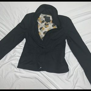 Sanctuary Clothing One Button Collared Blazer